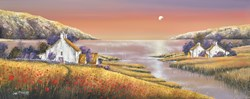 Dawning by John Mckinstry - Original Painting on Stretched Canvas sized 39x16 inches. Available from Whitewall Galleries